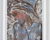 Grace, Christian Artwork, Christian Wall Decor, Religious Gifts, Christian Decor, Angel Artwork, Creative Collage Art, Angelic host, Angels