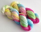 Dyed to Order - Fluttershy - Superwash Merino Worsted, DK or Fingering Sock Yarn  - Vivid Yarn Studio