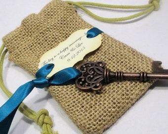 key bottle opener wedding favor skeleton key by pedoozle. Black Bedroom Furniture Sets. Home Design Ideas