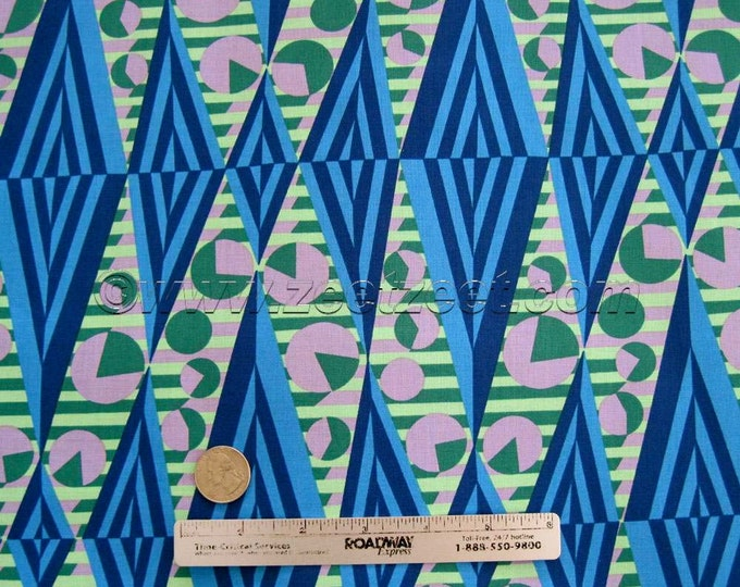 Amy Butler GLOW Sapphire Ab118 Cotton Quilt Fabric - HAPI Cotton Collection - By the yard