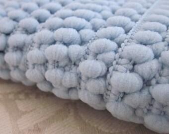 Light Blue Mini Pompom Trim