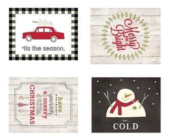 Mini Christmas Labels