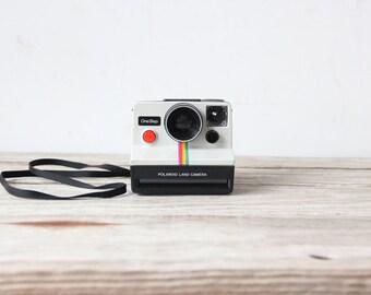 Iconic Rainbow Polaroid Land Camera
