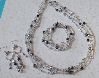 SALE--Lavender Jewelry Set