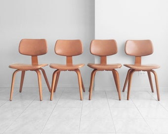 SOLD 25% SALE 4 thonetmid century modern bentwood side chairs
