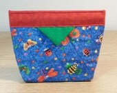 Quilted Snap Bag (SB004)