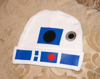 Star Wars R2D2 Infant Hat, Baby Hat, Beanie