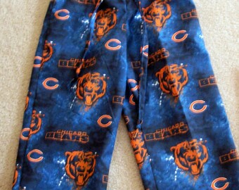 Child Chicago Bears Cotton Camouflage Lounge Pants (Size 5, 6, and 8)