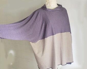 Super Comfortablale XL -  t - shirt - individually made by kathrin k. -  OAK -  cotton lycra