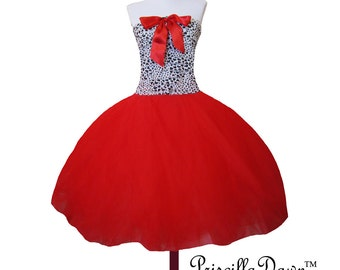 Summer Sale Little stretchy top fairytale tutu princess gown any color