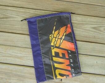 Vengeance Parachute Logo Blackberry Purple Drawstring Bag
