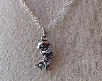 Sea Otter Charm Necklace