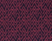 Clearance 1 yard Dear Stella Cozy FLANNEL Modern Fabric Oh Happy Day F252 Berry