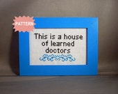 PDF/JPEG This is a house of learned doctors (Pattern)