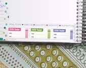 FitBit Tracker Stickers Printable - Rainbow - Instant Download - to fit your Erin Condren Weekly Boxes