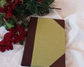 Hand Bound Hardcover Leather/Suede Address Book