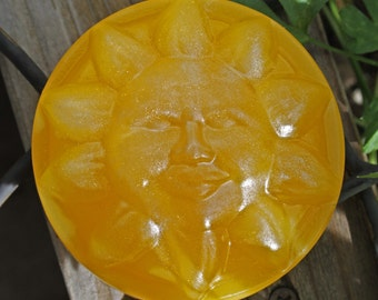 Sun soap - sunflower-yellow olive oil soap