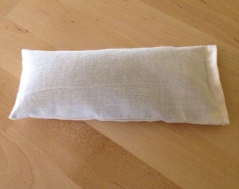 Organic Flaxseed and Lavender Eye Pillow
