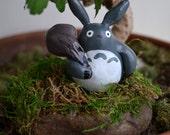 My Neighbor Totoro Mossy Rock Decor Paperweight Studio Ghibli Miyazaki Anime