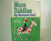 More Riddles by Bennett Cerf with drawings by Roy McKie.