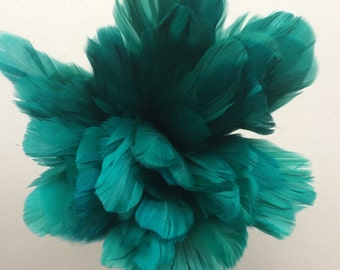 PRIMA GOOSE FEATHERS / Emerald Green  / P - 19