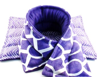 Microwave Hot Packs or Cold Packs, Heating Pads for the Microwave, Heat Therapy Gift Heat for Neck Back, Lavender Essential OIl Natural