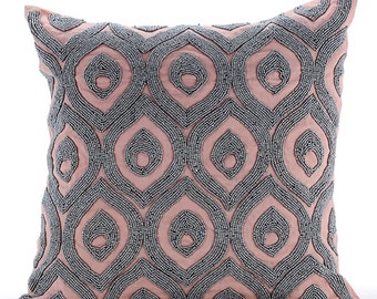light blue throw pillows cover for couch 16x16
