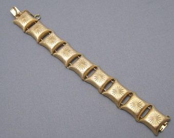 Vintage Bracelet Pillow Link Napier Jewelry B6312