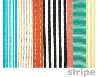 Stripe Set of 7 ribbons for Mohop Interchangeable Sandals