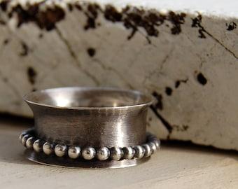 Wide Spinner Ring