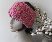 Head Band Ear Warmer Knitted for Women Teenagers