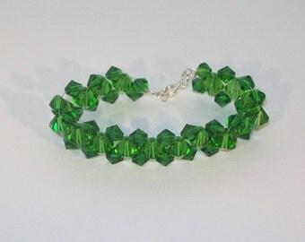 Swarovski Crystal Jewelry - Bridal or Birthstone Bracelet - Any Color
