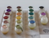 Solid Natural Perfume Sample Set - Choose Four, Treat yourself, little luxuries rainbow pack - Best gift for the nature lover, Beauty poetry