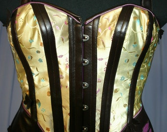 Steampunk Dermathistic S Curve Mid bust and Overbust Corset CUSTOM
