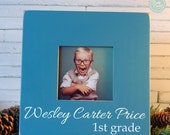 Personalized Back to School Picture frame, First Day of School Picture, Instagram Picture, personalized picture frame by Rusty Cricket