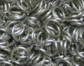 "19ga 3/16"" Stainless Steel Jump Rings - Machine Cut - (1.0mm x  5.0mm)"
