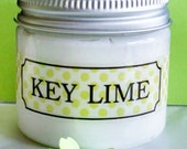 KEY LIME Whipped Coconut Oil Face and Body Butter!  Completely Natural Decadence for really healthy skin!