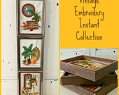 Vintage Embroidery Wall Hangings | Instant Collection