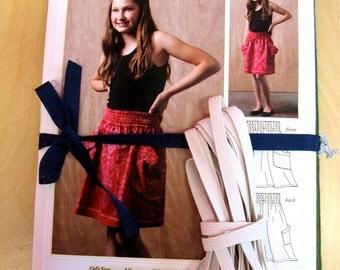 Cranberry Stripe Chloe Skirt Kit