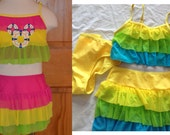 Disney SALE !!!!  . Three Piece Swimsuit with embroidered design