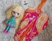 Petite Blythe Dolly Carry Bag - Citrus Paisley