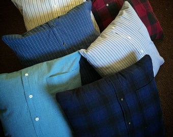 Button-Up Shirt Pillow