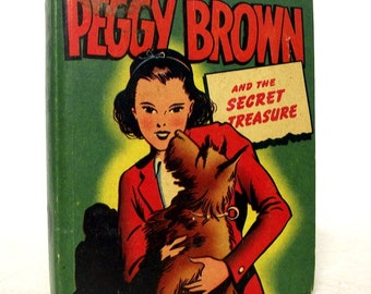 Peggy Brown and the Secret Treasure - 1947 - Better Little Book - Terrier Dog