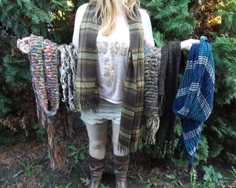 FREE SHIPPING six scarves