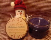 Christmas Fantasy Scented soy candle