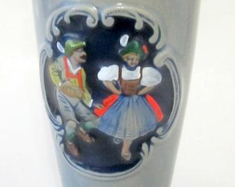 Vintage Gerz GERZIT Germany Stein Mug Pilsner Beer Collectible Stoneware Pottery