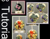 Floral Lampwork Bead Recipes with BONUS how to Create Floral Nugget Beads