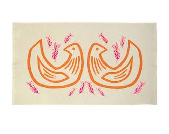 Tea Towel - Two Turtle Doves