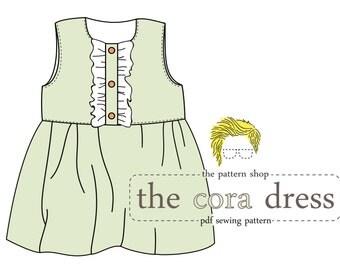The Cora Dress PDF Sewing Pattern