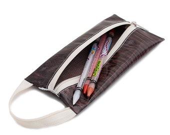 Oilcloth Pencil Case Makeup Bag